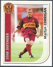 PANINI SCOTTISH PREMIER LEAGUE 2003- #328-MOTHERWELL-MARTYN CORRIGAN IN ACTION