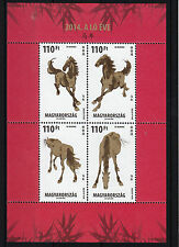 Hungary 2014 MNH Year of Horse 4v M/S Chinese New Year Lunar Zodiac