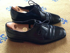 GUCCI Men's Shoes Made in Italy nero pelle stringati UK 10 US 11 EU 44