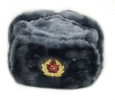 Hat Russian Soviet Army KGB  Military Cossack Ushanka