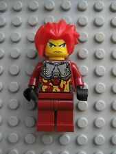 Lego TAKESHI Exo-Force Minifigure Dark Red Camouflage 8113