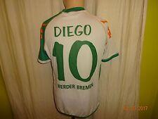 """Werder Bremen Original Kappa Heim Trikot 2006/07 """"we win"""" + Nr.10 Diego Gr.M- L"""