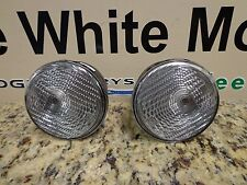 07-16 Jeep Wrangler New Clear Park and Turn Signal Lamp Right & Left Mopar Oem