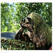 Ghillie Material Burlap Net Hood Suit Camouflage Army Sniper Yowie String Jungle