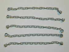 LEGO CHAIN (x 5) 21 links LIGHT STONE GREY accessories for minifigures
