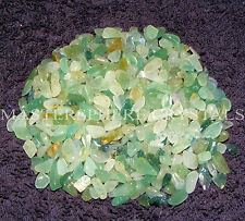 2000 x Green Aventurine Tumblestone Mini Chip Crystal 3mm-5mm Gemstone Wholesale