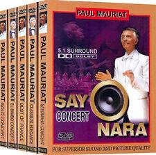 Paul Mauriat / NEW, 5DVD SET
