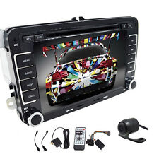 "Camera+7""GPS Navi 2DIN CAR STEREO AUTORADIO HEADUNIT DVD PLAYER iPod For VW Golf"