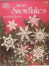 ASN Crochet Pattern Book More Snowflakes Ornaments by Mary Thomas 1038