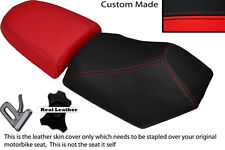 BLACK & RED CUSTOM FITS BAOTIAN FALCON 50 2 PIECE DUAL SEATS COVERS