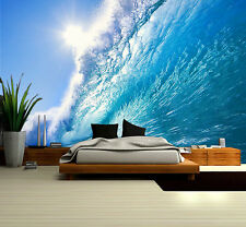 "Prepasted Wall Mural Foto Wall Decor Surfing  Wallpaper  82.7"" X 55.5""  BZ642"