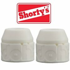 Shortys White Doh-Doh Bushings 98a Very Hard 2 sets For Skateboards & Longboards