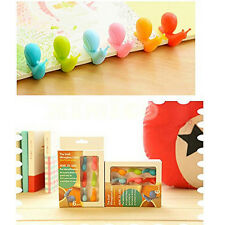 Nice Snail Wineglass Label for Hanging Tea Bag Colorful Snail Clip Silicon Gift