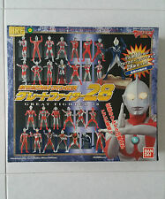 Ultraman HRF New Century Great Fighter 28 set Bandai tsuburaya takara