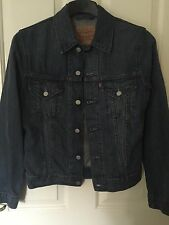 Men's Levis Denim Jacket In Size Small