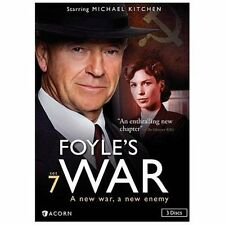 Foyles War:Set 7 (DVD, 2013, 3-Disc Set)  Season/Series