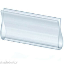 Shade Doctor of Maine ~ CLEAR HEM GRIP for Roller Shades ~ NEW in Retail Package