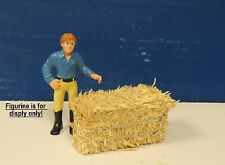 Two Hay Bale sun baked natural color1:24 G Scale