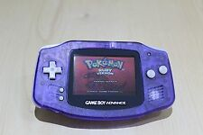 New Refurbished Game Boy Advance Console Midnight Blue New Body & Screen