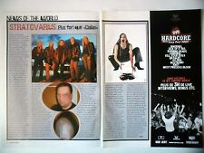 COUPURE DE PRESSE-CLIPPING :  STRATOVARIUS [2pages] 2004 Timo Tolkki,réglement