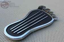 Gasser Accelerator Gas Pedal Pad Cover Trim Foot Moon Vintage Hot Rat Street Rod