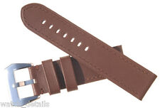 Waterproof Strap for Panerai Watches 24mm 40mm Case - Waterproof Brown
