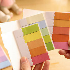 1Pc New Post It Bookmark Point Marker Sticker Memo Notepad Notebook Sticky Notes