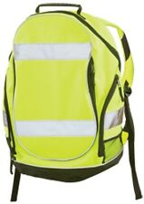 ERB SAFETY 29003 BP1 HIVIZ LIME/YELLOW  BACKPACK CAN FIT HARDHAT FAST SHIP