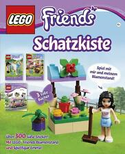 LEGO Friends Schatzkiste Geschichten, Stickern & LEGO Set mit Spielfigur Neu