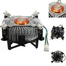 New CPU Cooling Cooler Fan and Heatsink for Intel Socket Core2 LGA 775 4 Pins UK