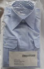 US Coast Guard Women's Blue uniform Shirt Blouse longsleeve size 12.5x36x32/33