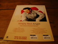 SIMPLY RED ANGEL!!!!!!!!!!!!!!!!!!RARE FRENCH PRESS/KIT