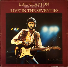 ERIC CLAPTON ‎- Timepieces Vol. II: 'Live' In The Seventies (LP) (F+/G-)