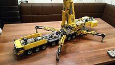 Bauanleitung instruction 42009 9 Achse Autokran Eigenbau Unikat Moc Lego Technic