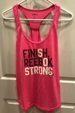 Reebok Womens Finish Reebok Strong Athletic Tank Large Crossfit NWT
