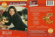 Rachael Ray Cooking 30 Minute Meals Pasta Burgers One Pot 4+ Hours 3 DVD set NEW