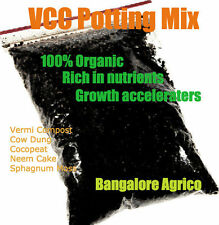 VCC Potting Media - 5 Kg - Vermiculite Peat Sphagnum Moss Dry Cow dung Neem cake