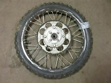1966 kawasaki J1R 85cc enduro k431~ rear wheel rim w sprocket