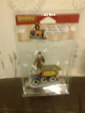 LEMAX ROASTED CHESTNUT SELLER FIGURINE APPROX 8CM TALL 42266 NEW BOXED