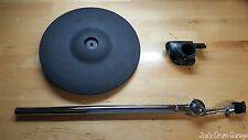 Roland CY-12R/C 3 Way Trigger V-Cymbal Ride V-Drum w/Clamp & Cymbal Arm GV73926