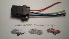 Waterproof relay for windsheild wiper conversion Datsun 240z 260z 280z