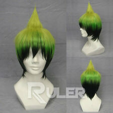 Anime BLUE EXORCIST Amaimon Green Gradient Cosplay Wig COS-210A