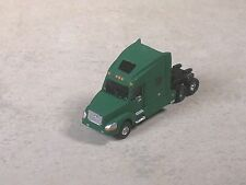 N Scale 2010 Green Volve Semi-Truck, Semi-Tractor with sleeper.