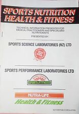 SPORTS NUTRITION HEALTH & FITNESS - Technical Information Supplements Dossier