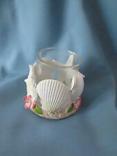Nautical Tea Light Candle Holder with Glass Insert, New