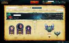 League of Legends | EUW | Diamond | 115 champions | 60 Skins | 1130 RP