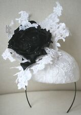 PHILIP TREACY HEAD PIECE BRIDAL ASCOT RACING HAT