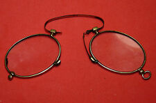 Antique Victorian Vintage Eyeglasses Nose Pinch Spectacles
