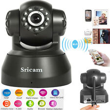 Wireless WIFI Pan Tilt 720P Security Surveillance IP Camera Night Vision Webcam