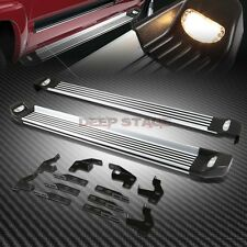 "5.25""ALUMINUM RUNNING BOARD STEP NERF BAR+LIGHT+MOUNT KIT FOR 09-15 HONDA PILOT"